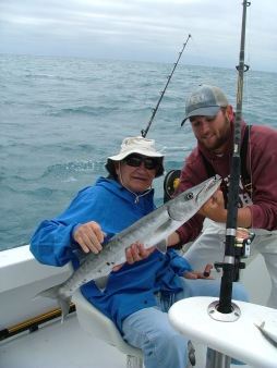 First barracuda - mission accomplished.
