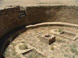 Kiva at Pueblo Bonito