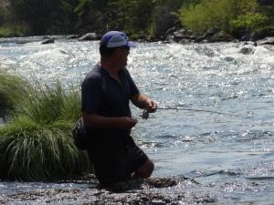 Fishing in the hummocks