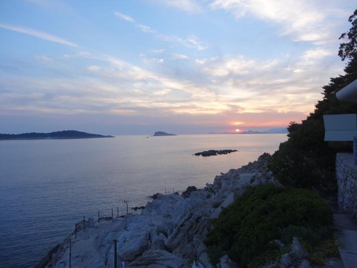 Susnset from Hotel Croatia, Cavtat
