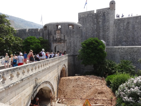 Pile Gate into old Dubrovnik