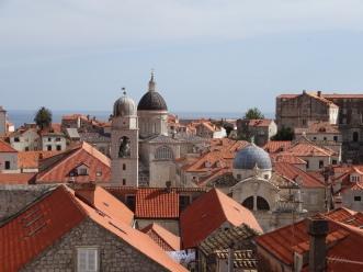 Domes of old Dubrovnik