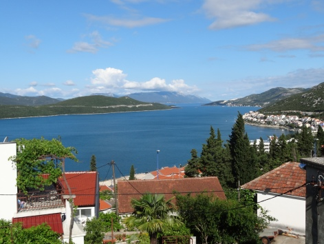Driving from Dubrovnik to Split