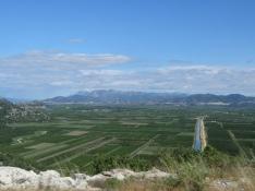 Farmland between Dubrovnik and Split