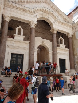 Entrance to Diocletian's palace, remodeled