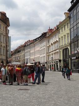 Old city Ljubljana
