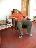Mosi + easy chair = nap