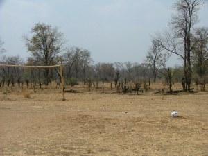 Leaving soccer balls on empty fields