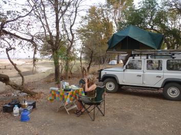 Breakfast at Wildlife Camp