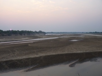 Luangwa River before the Emerald Season