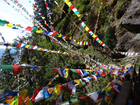 Prayer Flags to Tiger's Lair