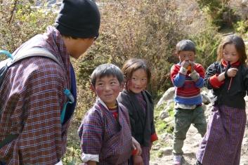 Folk songs with Laya children