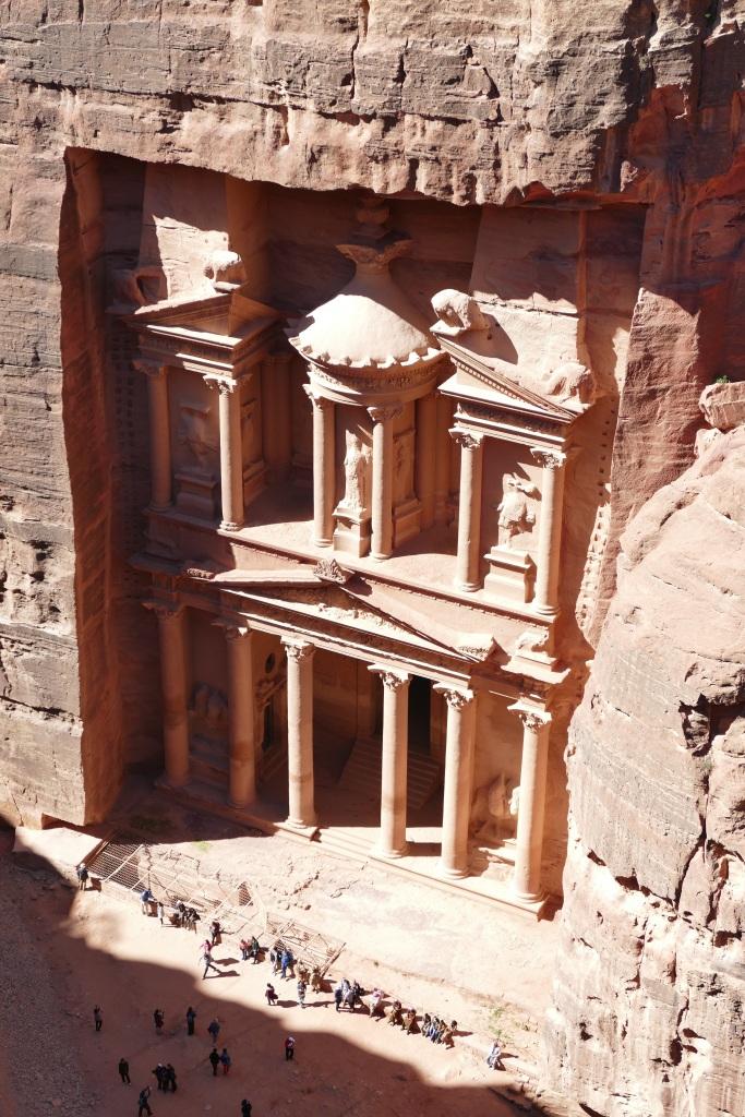 Treasury from Above, Petra